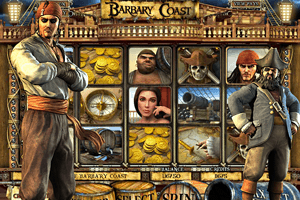 Barbary Coast - La machine à sous des pirates.