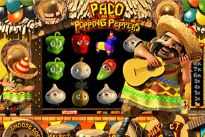 Paco and the Popping Peppers, la machine à sous mexicaine