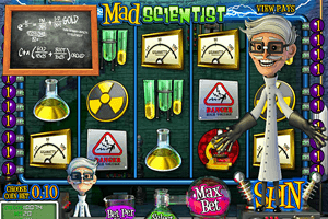 Mad Scientist - Un savant fou sur machine à sous