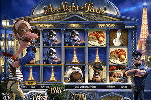 "A Night in Paris - Machine a sous ""Une nuit à Paris"""