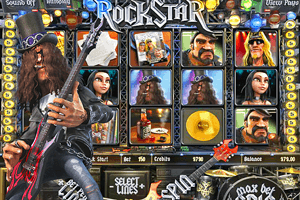 RockStar - RockBand et Guitar Hero en version machine à sous
