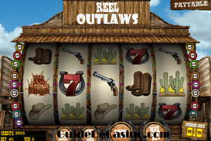 Reel Outlaws - La machine à sous du Far West!