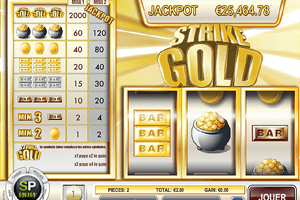 Machine à sous Strike Gold