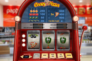 Machine à sous Crazy Pizza